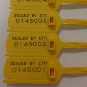 Full Plastic Adjustable Seals With Numbers LONG Leonardo