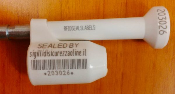 Barcode Bolt Lock Seal