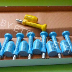 Bolt Lock Seals For Containers TAURUS Seal ISO 17712:2013