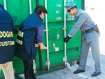 Customs Security Seal Inspection