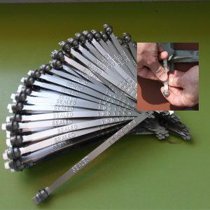 Precintos Metálicos Tipo Brida Globeseal Metal Strapseal