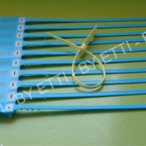 Precintos Plásticos Ajustables AQUARIUS 40 CM