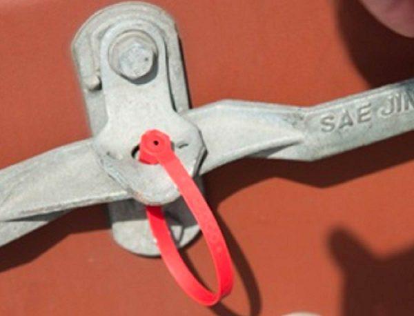 Self Locking Plastic Seal Capricorn2 On Handle Container