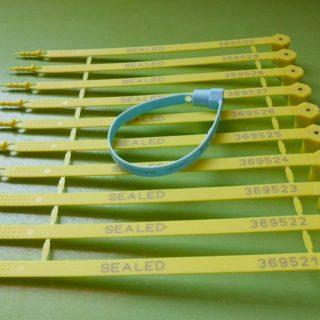 Self Locking Plastic Seals Capricorn2 Strip