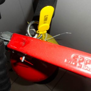 Anchor Security Seal Handle Fire Extinguisher