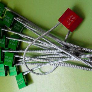Cable Lock Seals  Diam 5mm ISO 17712