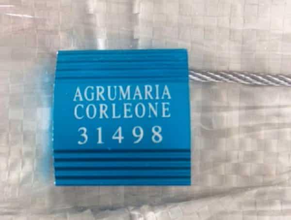 Cable Seals Agrumaria Lion 5mm Diameter