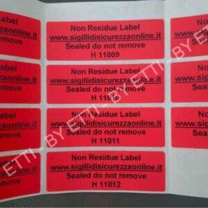 Etichette Sicurezza Senza Residuo Numerate 600×450