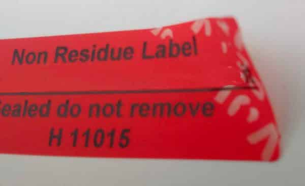 No Residue Security Labels