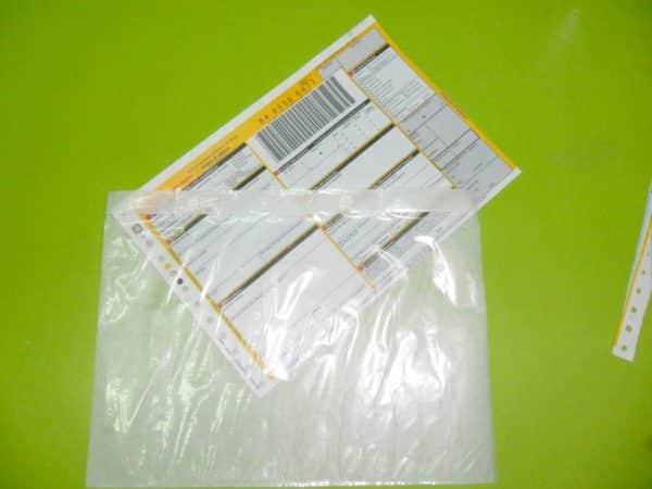 Packing List Insert Document