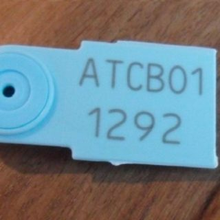 Plastic Adjustable Seal Detached Receipt