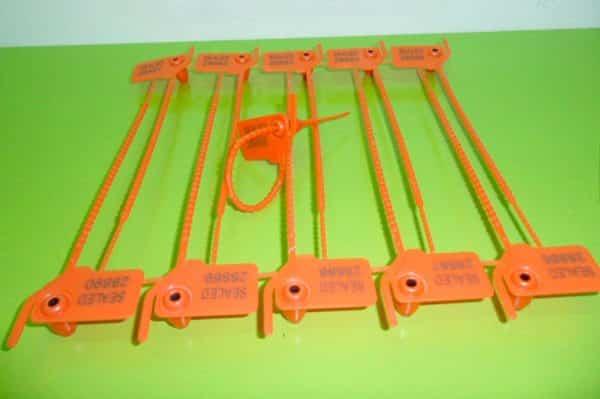 Pull Tight Plastic Miniseal Strip