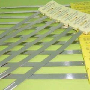 SCELLES FEUILLARDS METAL CAPRICORN TETE ABS