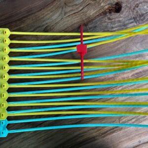 LEONARDO LONG Precinto Plástico Ajustable Desechable