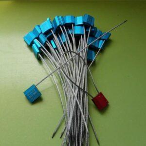 Precintos De Seguridad De Cable En Metal 2,5mm
