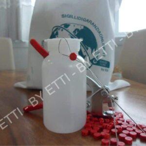 Precinto De Plomo Plástico Ecoplomb 9 Mm